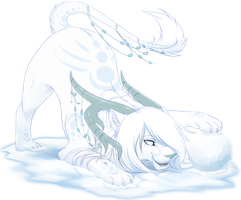 Com: White Snow by DragginCat