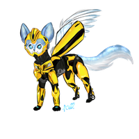 Bee costume by Warriocat12