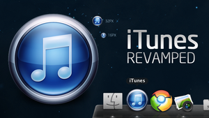 iTunes Revamped - Icon by spud100