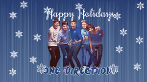Happy Holidays Wallpaper by iluvlouis