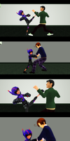 The Cross Family [MMD]: Karate and Eskrima by DestinyWing