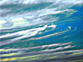 Stripes Of Cloud by my-dog-corky