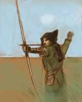 Ranger Archery by animationgorilla