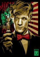 Matt Smith of Dr Who by jimiyo