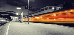 Trainstation by TWPictures