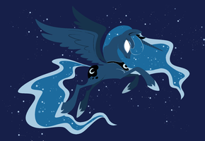 princess luna by gobixhoukou
