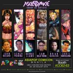 Ascendance Group of Artists @ ASIAPOP COMICON 2016 by johnbecaro