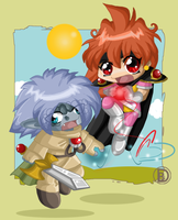 Chibi Love Power by Blaze-Bernatt