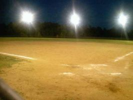 The base ball field by TheShadowHuntress