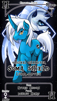 [Commission] Soma Shield by vavacung