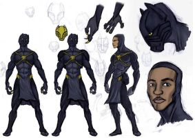 Black Panther: New Design by kaseddy