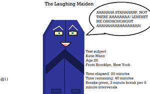 The Laughing Maiden by ZhaneAugustine