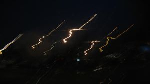 Wiggling Lights Wallpaper by Pola-444