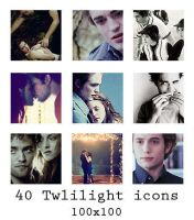 Twilight icons - 100x100 by The-Shadowsea
