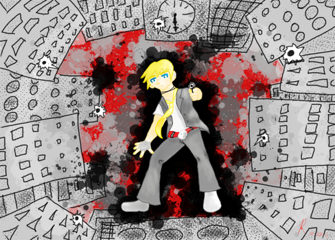 Running Out of Time by foxell16-vocaloid