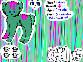 Patches Ref // IHAVENOIDEA by PatchesPie