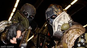 Army of two japan expo 2013 by Darthforcer