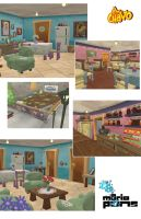 El Chavo Locations 2 by MarioPons