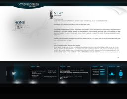Template folio 2009 simple V. by alex-xs