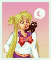 USAGI says MOON by pyawakit