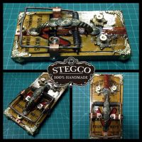Handmade Tattoo footswitch for sale by Stegco