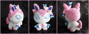 Sylveon/Ninfia Pokedoll by xBrittneyJane