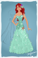 Ariel Dress Design by Cor104