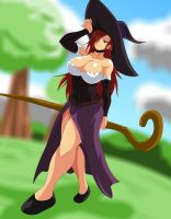Dragons Crown's sorcoress by bocodamondo