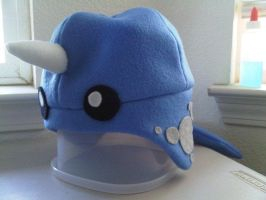 Narwhal Fleece Hat by yitsockl