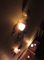 candle fire verticle by leashgrey