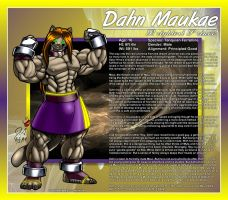 Mystic League DU - Dahn Maukae by DocWolph