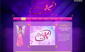 Winx: Delix Club Official Page. by DragonShinyFlame