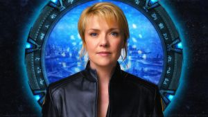 Amanda Tapping  Carter Atlantis Team Leader by Dave-Daring