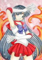 Sailor Mars Crystal by Dawnie-chan