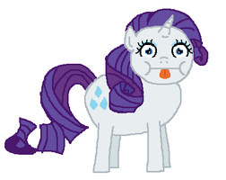 Rarity poo by creepycurse