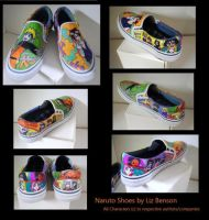 Naruto Shoes :D by soccercat4685