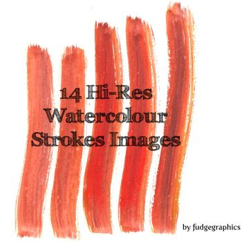 Watercolour Strokes Images by fudgegraphics