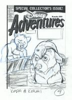 Brother Bear DA Cover V9 by tombancroft