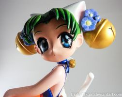 Di Gi Charat Resin Statue- Closeup by thatg33kgirl