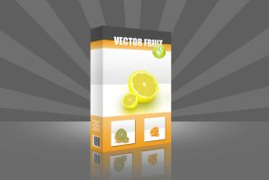 DVD vector fruit by Mohic