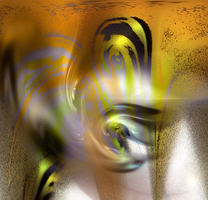PNG - Fractal Yellow by Variety-Stock