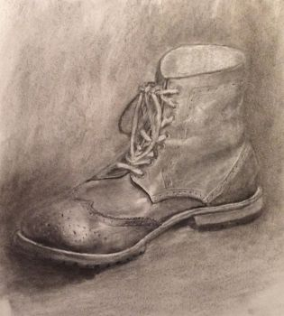 Shoe sketch by weblore