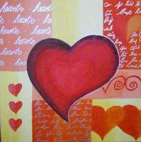Lovely hearts by die-sonni