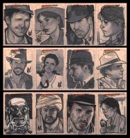 More Indy Sketch Cards by AdamHughes