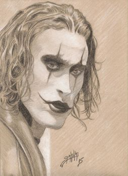 Eric Draven  Sends His Regards by PaulSpatola