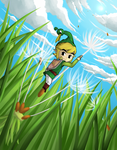 Minish Cap: Dandelion -Revisited- by Icy-Snowflakes