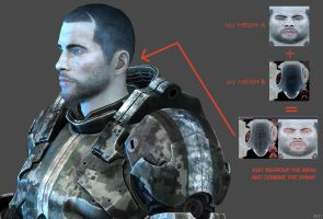 My First Mass effect 3 by Goreface13