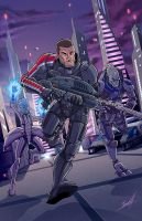 Mass Effect by natelovett