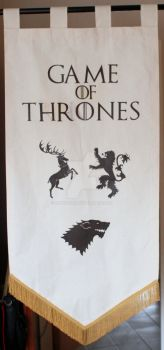 Games of Thrones Banner by mihonshi