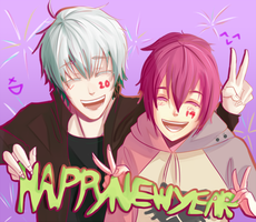 AB: Happy New Year! by ZiaLiaLis